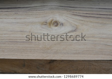 wooden sheets overlapping  prepare to be clear #1298689774