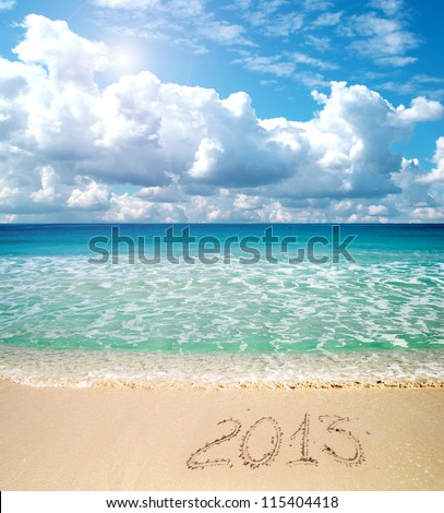 2013 written in the sand