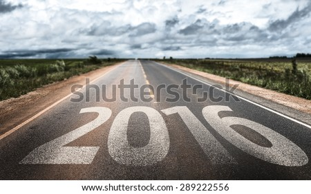 2016 written on rural road