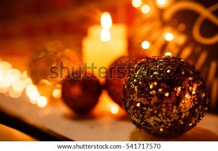 xmas background. xmas ball. lights #541717570