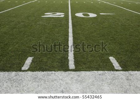 20-yard-line of a football field