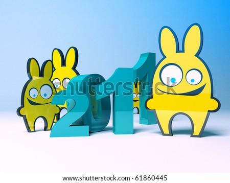 Год кролика - символ 2011