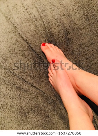 18 year old, foot fetish