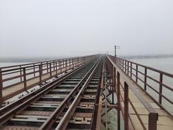 100+ year old Indian railways bridge rajghat uttar pradesh