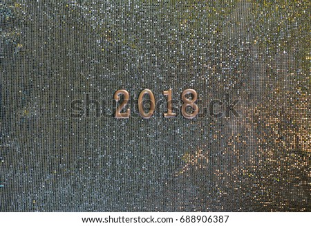 2018 year, symbol and signs #688906387