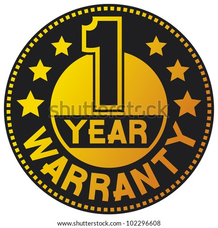 1 year warranty (one year warranty)