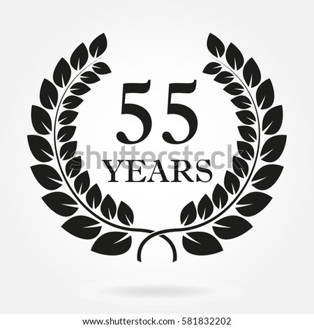 55 years. anniversary or...