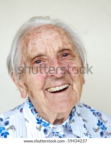 95 years old german woman