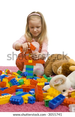 6Yo Models http://www.shutterstock.com/pic-3055741/stock-photo--yo-girl-with-her-toys-on-the-floor-there-s-huge-mess-all-toys-are-carefully-selected-there-s.html