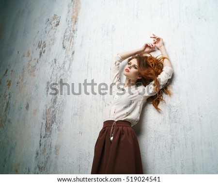 young female model. woman...