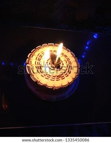 Yummy butterscotch cake  #1335450086
