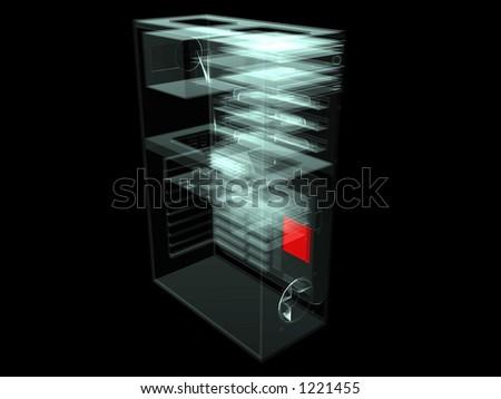 计算机个人计� ��机技术 - stock photo