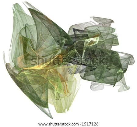 一份地球被定� ��子的气体蒸� �表单被回报在 一个纯净的白� ��背景。 - stock photo