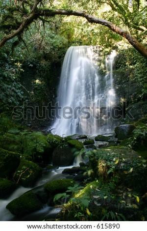 滝フレーム - stock photo
