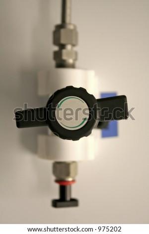 气压测量仪 - stock photo