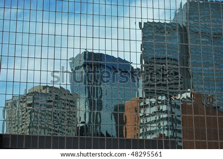 A architectural photograph of a Dallas, Texas building.