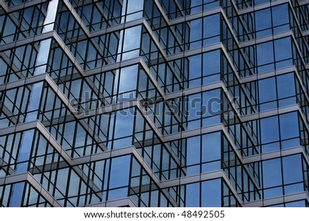 A architectural photograph of a Dallas, Texas building.