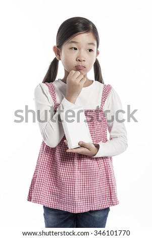A Asiankorean Japanese Chinese Girlkid Student Child