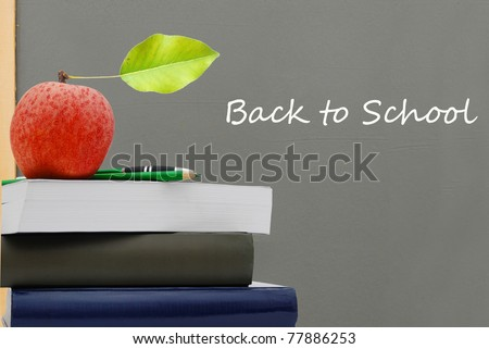 A 'back to school' background