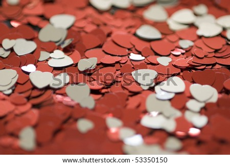 a background image featuring an arrangement of red and white heart shapes - perfect for valentine subjects