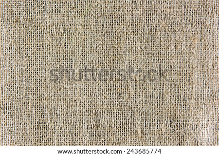 A background texture of burlap cloth