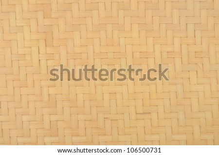 A bamboo basket background