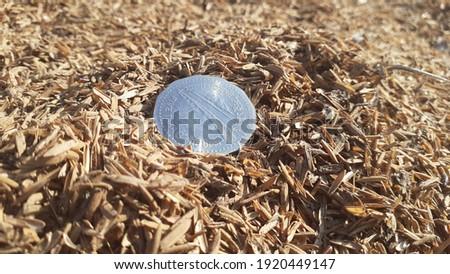 A Bangladeshi 5 taka's coin for money. Stock fotó ©