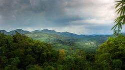 A beautiful and cooling view at the top of kuala mu located at Sungai Siput (u) Perak