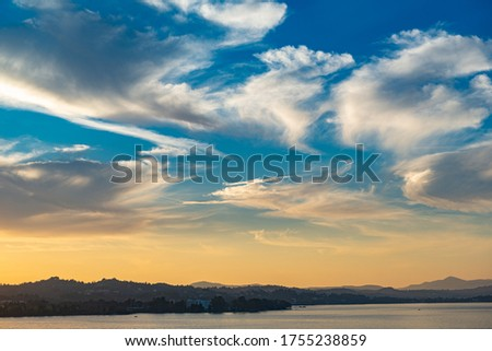Photo of  A beautiful cloud in the eventide