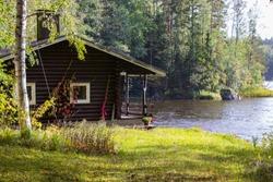 A beautiful cozy lakeside home.