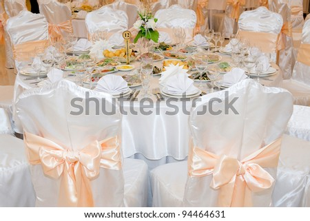 a beautiful holiday table