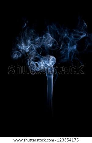 a beautiful isolated smoke background