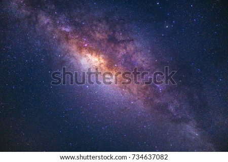 A beautiful milkyway shot on 35mm lens