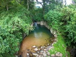 A Beautiful Natural water pool in srilanka