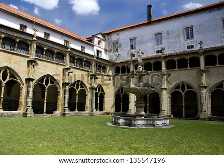 A beautiful old cloister.