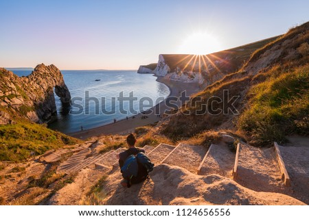 A beautiful photography spot on the south west coast of England, on the jurassic coast