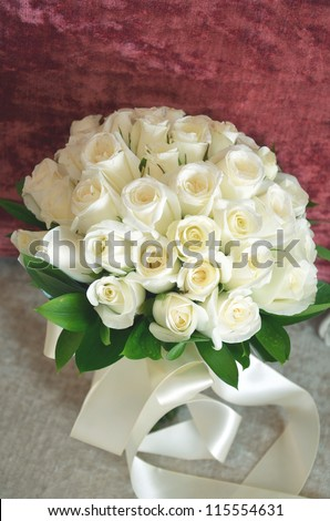 a beautiful rose bouquet
