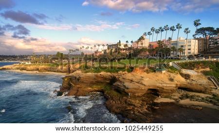 A beautiful shot of La Jolla, California Stock fotó ©