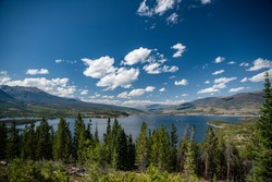 A beautiful shot of Lake Dillon.