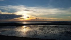A Beautiful sunset in Iloilo, Philppines