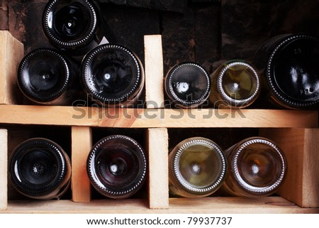 a beautiful wine cellar with a number of bottles