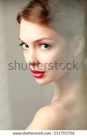 A beautiful woman, portrait