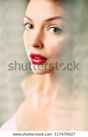 A beautiful woman, portrait