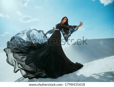 Dress for Women Sky Blue Sundress Body Hugging Dress Mountain Peak Reflection Form Fitting Dress White Girls Dress