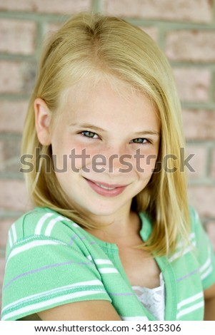 baby blond hair blonde hair boy boy - girl brown hair female girl green eyes