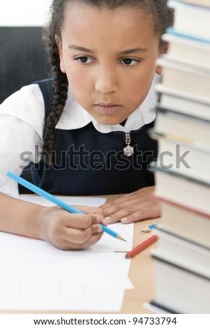 Young Blonde Secretary Writing Notes. Stock Photo 131204195 ...