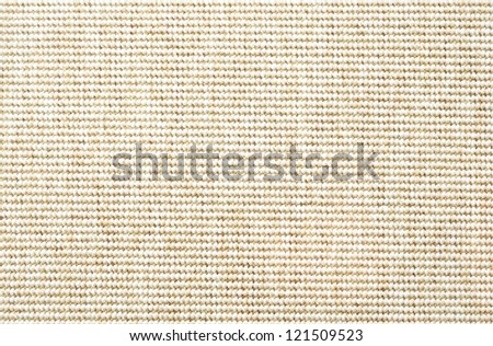 a beige floor mat, a closeup shot