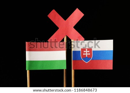 A big competitiveness and hatred between those lands. Hungary and Slovakia. Different speech and another things cause this problem #1186848673