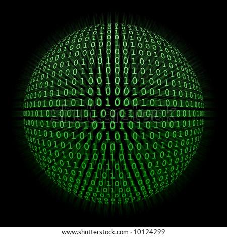 A Binary Code Sphere