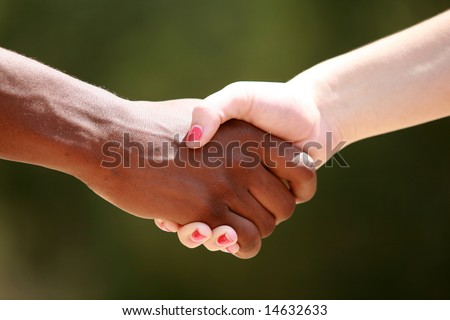 shaking hands clipart. white female shake hands